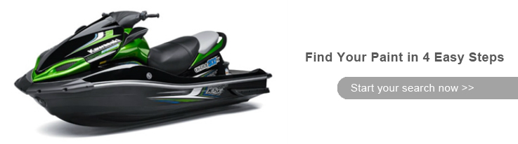 Kawasaki 750 SXi Pro Watercraft Paint - ColorRite